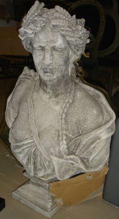 Stone sculpture of Male Torso