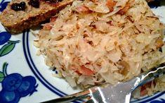 Make and share this Fried Sauerkraut recipe from Genius Kitchen. Sauerkraut Recipes, Cabbage Recipes, Pork Recipes, Low Carb Recipes, Cooking Recipes, Healthy Recipes, Healthy Food, Homemade Sauerkraut, Crockpot Recipes