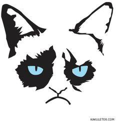 Draw grumpy cat in 5 easy steps | Cartooning | Pinterest