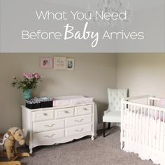 Before my sister and a few friends had their babies I put this list together for them. I've been asked to share it on our blog, so here you go!