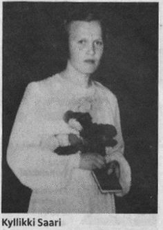 Auli Kyllikki Saari (December 6, 1935 – May 17, 1953) was a 17-year-old Finnish girl whose murder in 1953 is one of the most infamous Finnish homicide cases of all time. Her murder in Isojoki remains unsolved.