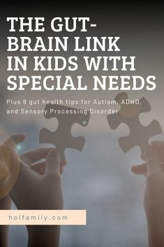 Is there a gut-brain link in children with Autism, ADHD, and Sensory Processing Disorder? Check out what over 55 scientific studies reveal about the gut-brain axis and kids with special needs. Learn about leaky gut, candida, and so much more in this in-depth look at gut health and special needs. Plus, get the top tips on improving gut health in kids with Autism, ADHD, and Sensory Processing Disorder. Read now or save for later. Autism Parenting, Adhd And Autism, Children With Autism, Gut Brain, Brain Health, Gut Health, Sensory Disorder, Sensory Processing Disorder, Essential Oils For Autism