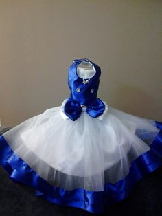 Exquisita Perrito elegante vestido de alta por bellasfancywardrobe
