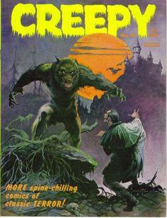 Creepy Comic Magazine #horror