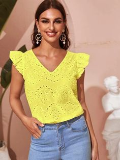Funny Fashion, Blouse Designs, Work Wear, Boho Fashion, Casual, Ideias Fashion, Floral Tops, Clothes For Women, How To Wear