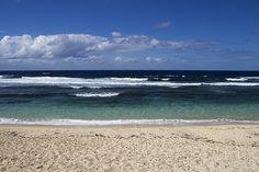 Port Resolution Beach, Tanna Island  Tide coming in...