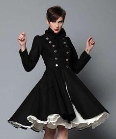 French Maid Olga Wool Coat