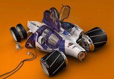 """""""Cosmic Motors Series"""" by Daniel Simon"""