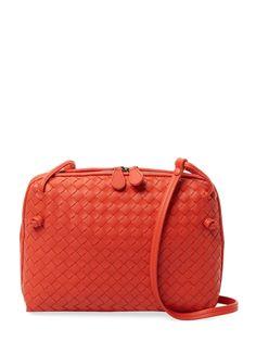 Leather Zip Around Wallet - FRESH RED ROSE by VIDA VIDA 1P7ECWjrm