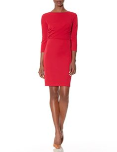 Draped Bodice Dress from THELIMITED.com Pair this #statement #dress with a blazer for your next #interview.