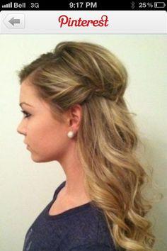 Bridesmaids Hair - Option 1