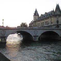 Sunset along the Seine...|#TBT #Travel by bahartak