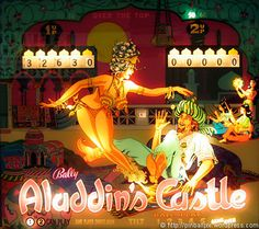 Aladdin's Castle Pinball Game (1976 Bally)
