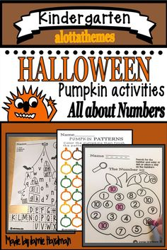This product includes NO PREP printables, worksheets, and pumpkin activities to keep students engaged during the excitement of Halloween! These printables are perfect for morning work and centers, The students will have lots of fun! Kindergarten Themes, Kindergarten Learning, Alphabet Activities, Literacy Activities, Halloween Math, Different Holidays, Classroom Rules, Learning Numbers, Morning Work