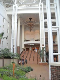 The beautiful Opryland Hotel in Nashville during the 2011 AACC World Conference.