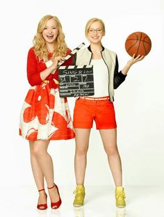 Cool photo of liv and maddie. Dove Cameron plays as both of them