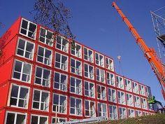 Casa de estudiantes en Amsterdam, Holanda