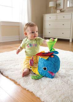 Amazon.com: Lamaze Franky The Hanky Whale: Baby