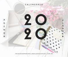 Faça a sua própria agenda, seu planner e seu calendário. Preparei algumas opções para você só imprimir. Planner, Free Printables, Pom Poms, Vape Tricks, Supreme T Shirt, Toddler Girls, Free Printable