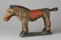 Wilheim Schimmel Toy Horse - 1850-90 Pennsylvania - Pennsylvania Museum of Fine Art