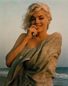 Marilyn Monroe's final photoshoot taken by George Barris on a beach in Santa Monica on July 13, 1962.