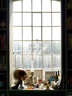 The London home of Ilse Crawford, interior designer and founding editor of British Elle Decoration