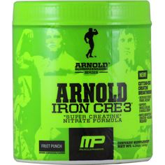 Arnold Series by MusclePharm Iron Cre3 Fruit Punch 30 svg | Regular Price: $44.99, Sale Price: $25.99 | OvernightSupplements.com | #onSale #supplements #specials #MusclePharm #Creatine  | Iron Cre3 Super Creatine Nitrate Formula Increased Strength Power and Recovery Supports Muscle Building Muscle Growth Rapid Absorption of Creatine No Loading Required These statements have not been evaluated by the FDA This product is not intended to diagnose treat cure or prevent any diseas