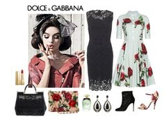 """""""Dolce & Gabbana Inspired"""" by fashionfan-8 ❤ liked on Polyvore featuring Dolce&Gabbana"""