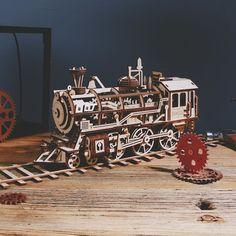 Puzzle en bois 3D Maquette DIY Puzzle mecanique Mecapuzzle DIY  Loisirs créatifs Idée cadeau Puzzle Puzzles, Assemblage, Diy, Painting, Creative Crafts, Gift Ideas, Puzzle, Bricolage, Painting Art