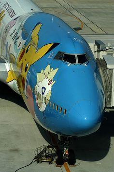 JA8964 ANA All Nippon Airways Boeing 747-481D