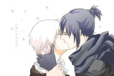 Nezumi and shion from no. Rough translation: oath sealed with a kiss N 6 Anime, Me Me Me Anime, Canon Anime, Chinese Fairy Tales, Nezumi No 6, Anime Watch, Video Game Anime, Shounen Ai, Cute Gay