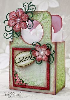 Verity Cards: Favour Box or Place setting