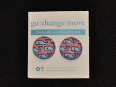 i think you would like these!  My friends sell these earrings for $10 and half of the money goes to help people around the world. They also come in more patterns. Shop for a cause!