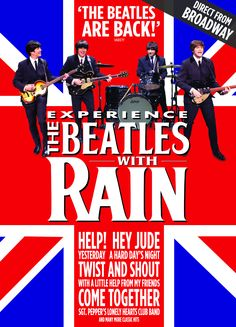 Check out our interactive poster for RAIN  January 4-6 2013 San Diego Civic Theatre #SanDiego #Beatles #Music