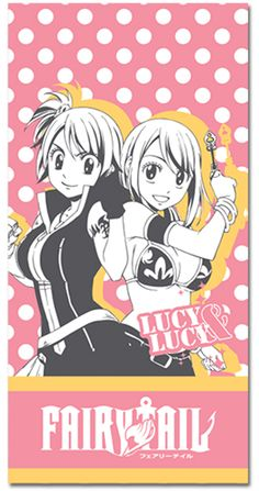 Fairy Tail Lucy & Lucy Towel
