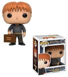 """Fred Weasley Funko Pop 3.75"""" Vinyl Bobble Head Figure Harry Potter Movie Toy New #Funko"""