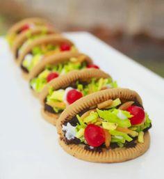 Project Denneler: Mini Taco Cookies