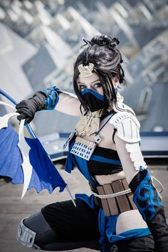 Mortal Kombat, Kitana ''Black and Blue'' by 14vegeta