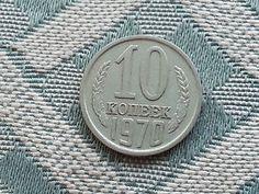 Collectible c. 1970 coin 10 kopeks Russia USSR СССР ten Russie Russian
