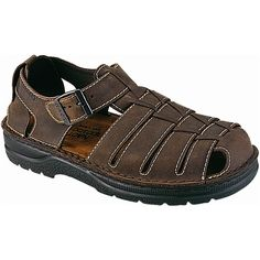 Naot Men's Julius Style #: 69501-483 in Crazy Horse | The Julius is a fisherman inspired sandal with a buckle strap at the instep for adjustable and secure fit. This style has a heel cup for support and openings that allow breathability and ensure fresh feeling feet all day long. Naot's removable, anatomic cork and latex footbed is covered in pampering suede and molds to the shape of the foot over time. | Naot shoes are available at www.TheShoeMart.com #TheShoeMart.