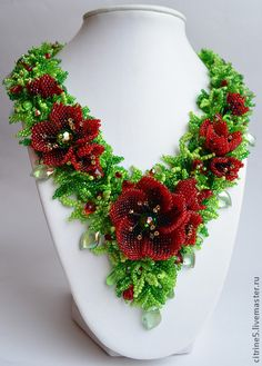Bead Jewelry Artwork by Daria Strel'chenk0 featured in Bead-Patterns.com Newsletter!