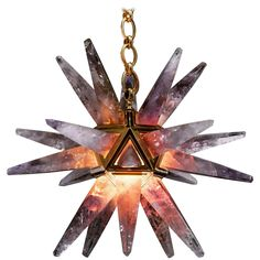 Pin by phoenix fire raptor on lumination pinterest amethysts amethyst star iii chandelier gold edition by alexandre vossion mozeypictures Gallery