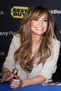 jlo hair | Love the hair color | Jlo hair