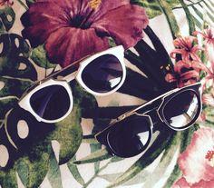 Chic vintage sunglasses www.tenesommer.com fashion shop blog marbella spain