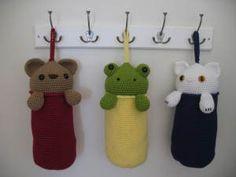Amigurumi Plastic Bag Holder   Crochet/Knitting   YouCanMakeThis.com