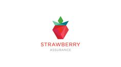 Strawberry Assurance Identity by Mandy Wong, via Behance