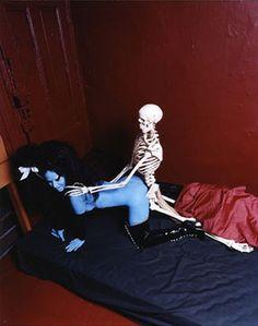 Kembra pfahler skeleton fornication series 2006