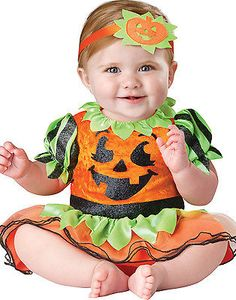 Infant baby #girls toddler cute pumpkin #princess first #halloween costume,  View more on the LINK: 	http://www.zeppy.io/product/gb/2/371418189493/