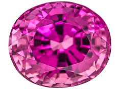 Tanzanian Slightly Purplish Pink Spinel Oval With S. Report By Craig Lynch Birthstone Gems, Purple Agate, Gems And Minerals, Stone Jewelry, Precious Metals, Pretty In Pink, Vivid Colors, Loose Gemstones, Crystals