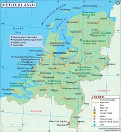 Netherlands atlas maps and online resources infoplease netherlands map gumiabroncs Image collections